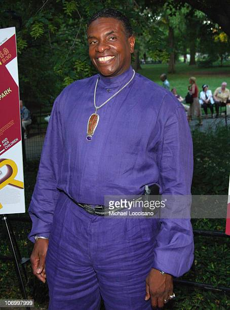 Keith David during Shakespeare in the Park's 'Mother Courage And Her Children' Opening Night at The Delacorte Theatre in Central Park in New York...