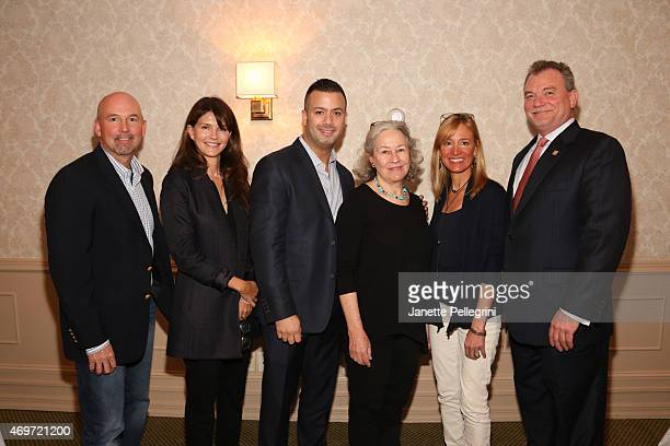Keith Davis Anna ThroneHolst Michael Capace Dede Gotthelf Tracy Mitchell and Kevin OConnor attend Hamptons Magazine Local Business Seminar 2015 at...