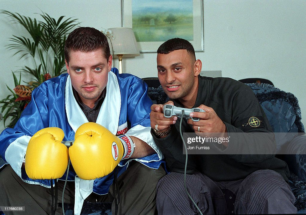 Keith Duffy and Naseem Hamed Promote New Boxing Game On Playstation