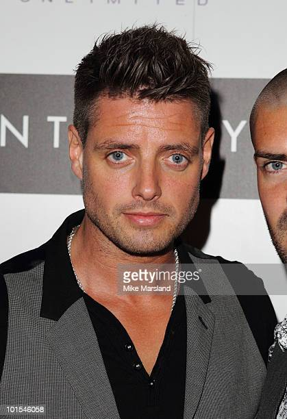 Keith Duffy attends the Quintessentially Awards at Freemasons Hall on June 1 2010 in London England