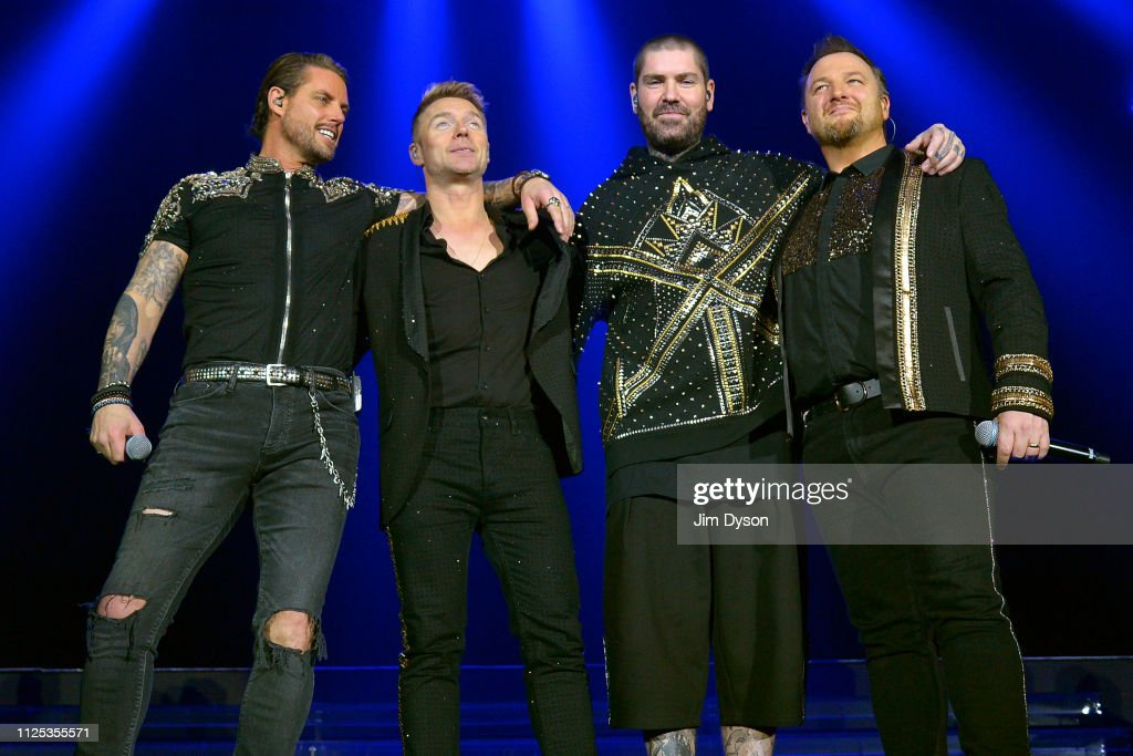 GBR: Boyzone Perform At Wembley Arena