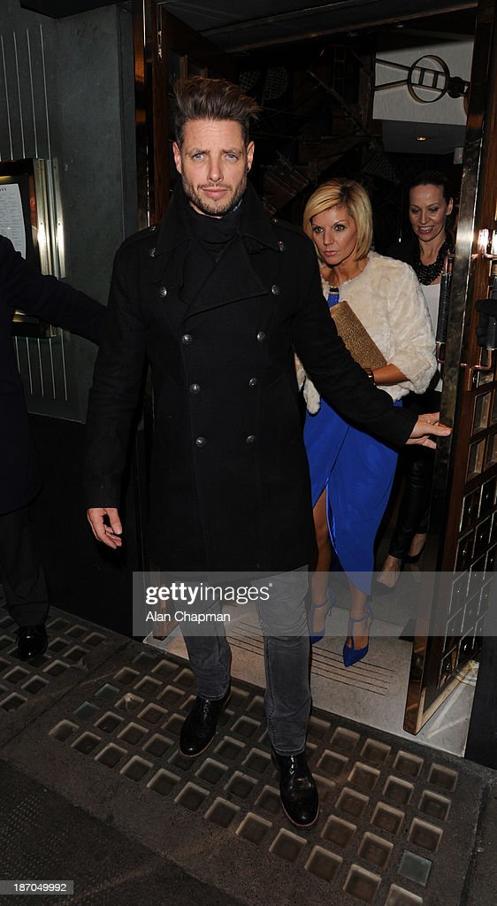 Keith Duffy sighting at The Ivy on November 5, 2013 in London, England.