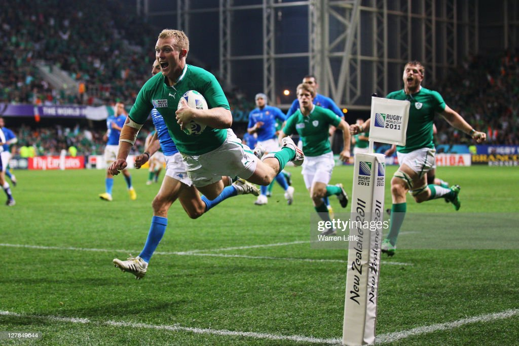 Ireland v Italy - IRB RWC 2011 Match 40