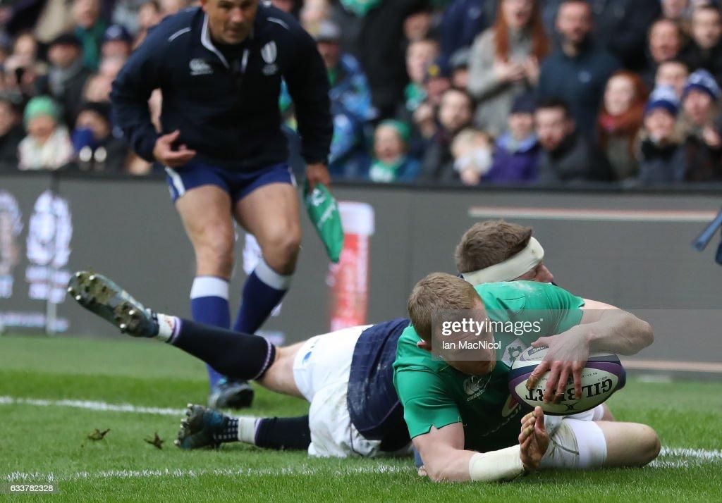 Scotland v Ireland - RBS Six Nations : News Photo