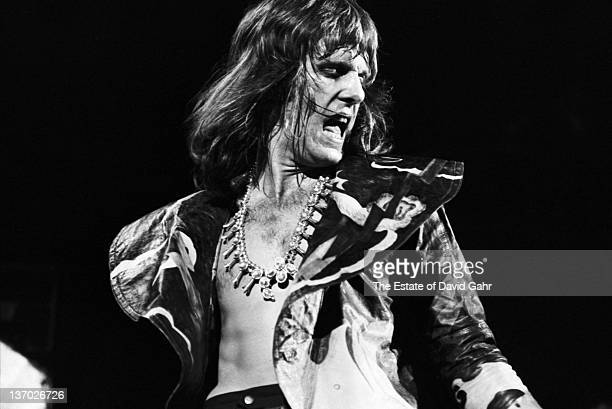 Keith Emerson of Emerson, Lake and Palmer performs at the Mar Y Sol Festival in April, 1972 in Manati, Puerto Rico.