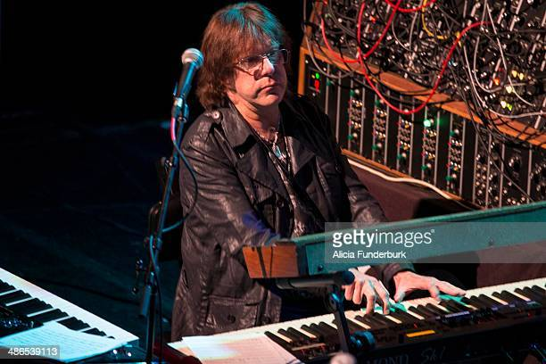 Keith Emerson performs during Moogfest 2014 on April 24, 2014 in Asheville, North Carolina.