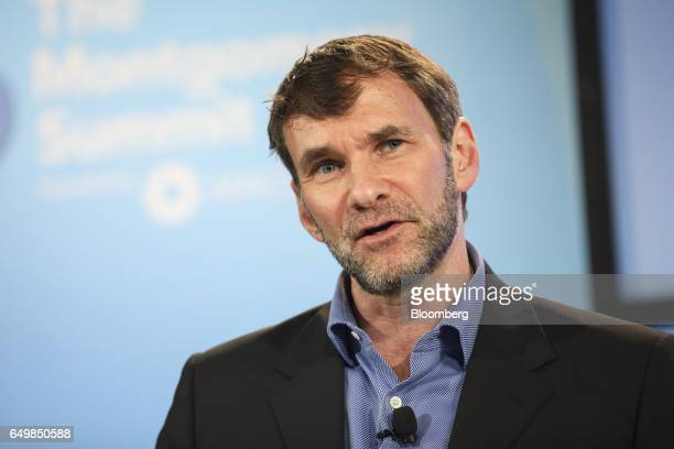 Keith Ferrazzi founder and chairman of Ferrazzi Greelight Inc speaks during the Montgomery Summit in Santa Monica California US on Wednesday March 8...