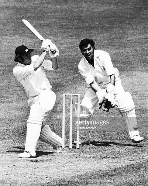 Keith Fletcher of England in action during the Prudential World Cup match between England and India at Lord's London Great Britain on the 7th of June...