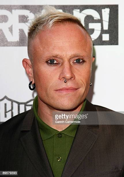 Keith Flint of The Prodigy attends The Kerrang Awards 2009 held at The Brewery on August 3 2009 in London England