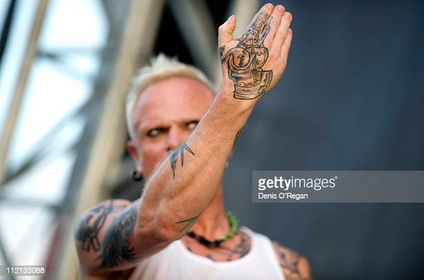 Keith Flint of The Prodigy live at the Download Festival UK 2009