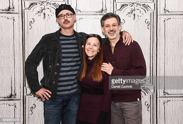 Keith Fulton Vonda Viland and Lou Pepe attend AOL Build to discuss the film 'The Bad Kids' at AOL HQ on December 12 2016 in New York City