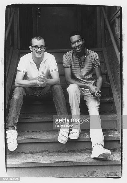 Keith Haring and Juan Dubose