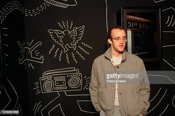 Keith Haring at Art Exhibit