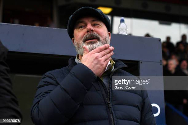 Keith Hill Manager of Rochdale AFC during The Emirates FA Cup Fifth Round match between Rochdale and Tottenham Hotspur on February 18 2018 in...