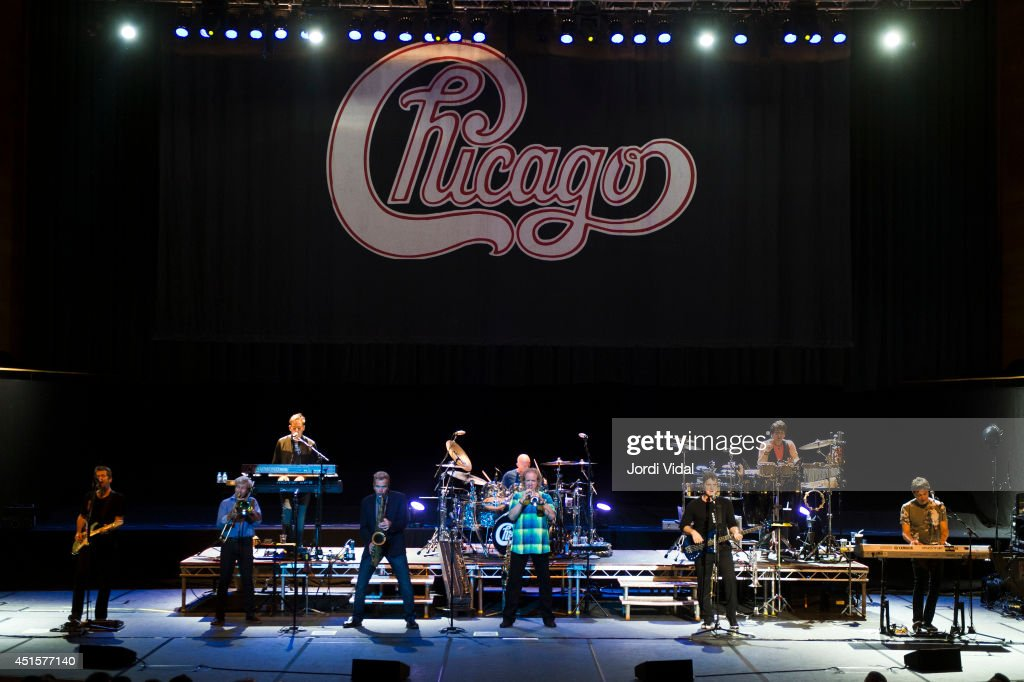 Chicago Perform At L'Auditori In Barcelona