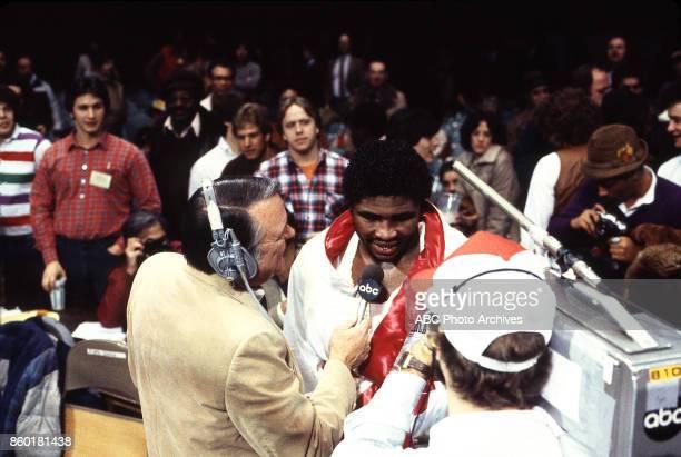 Keith Jackson Greg Page at Public Hall Feb 12 1983