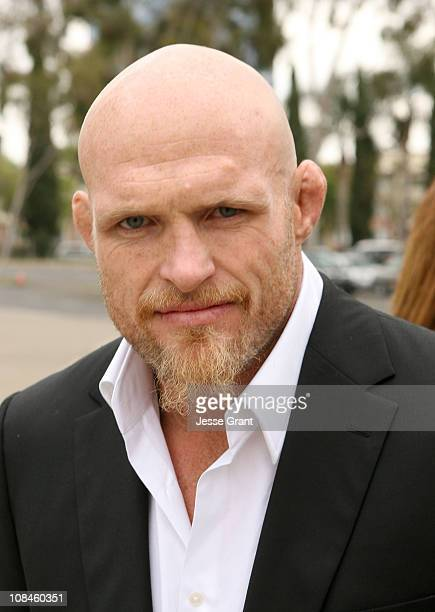 """Keith Jardine attends """"Simply Believe"""": A Celebration Of Charles """"Mask"""" Lewis Jr. Held at The Crystal Cathedral on April 14, 2008 in Garden Grove,..."""