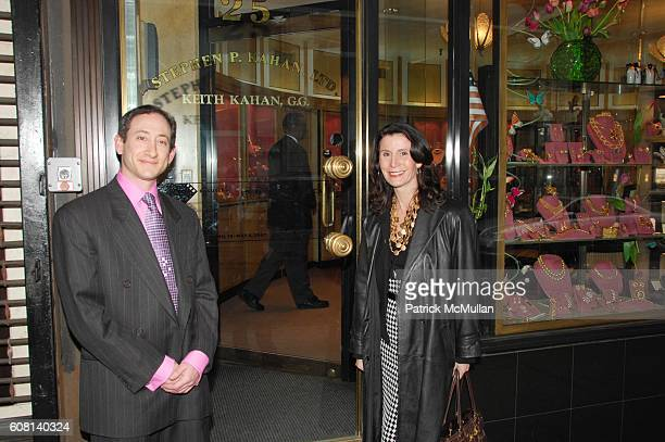 Keith Kahan and Katherine Oliver attend MADISON AVENUE BID Salutes the TRIBECA FILM FESTIVAL and the 40th Anniversary of the Mayor's Office of Film...