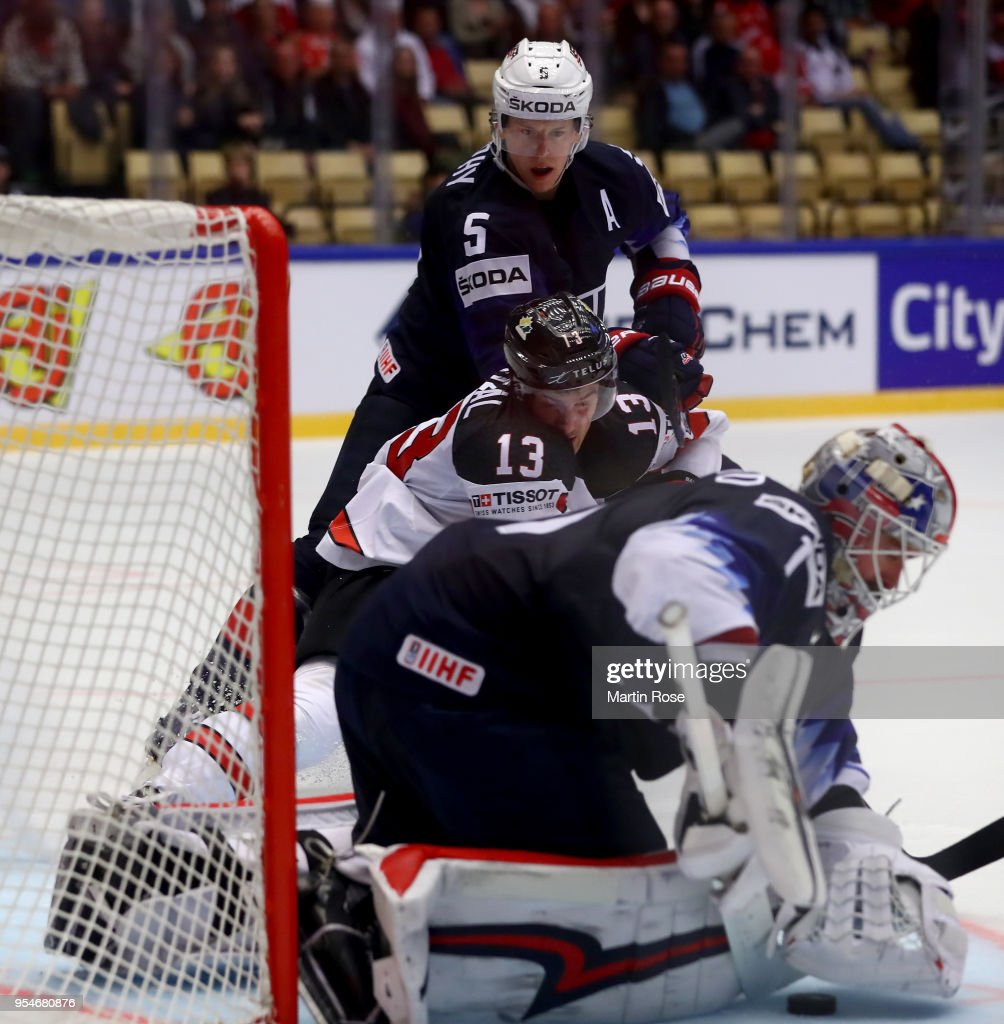 United States v Canada - 2018 IIHF Ice Hockey World Championship