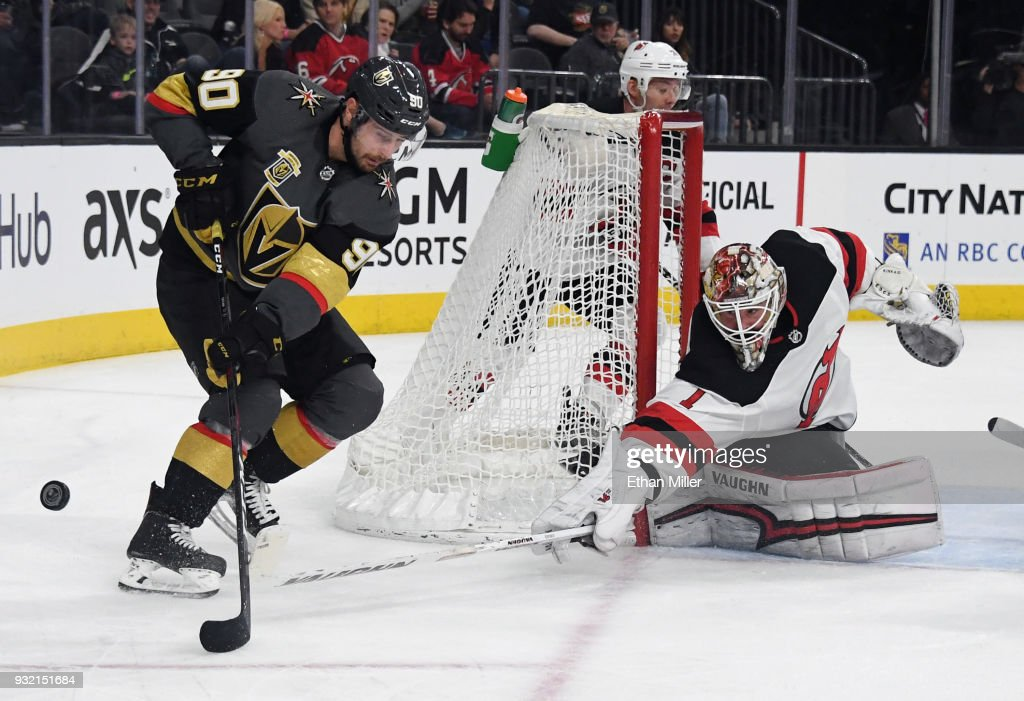 New Jersey Devils v Vegas Golden Knights