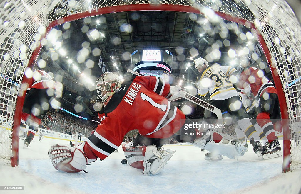 Boston Bruins v New Jersey Devils