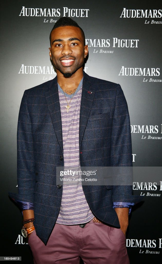 Keith Langford attends Audemars Piguet Cocktail on October 21, 2013 in Milan, Italy.