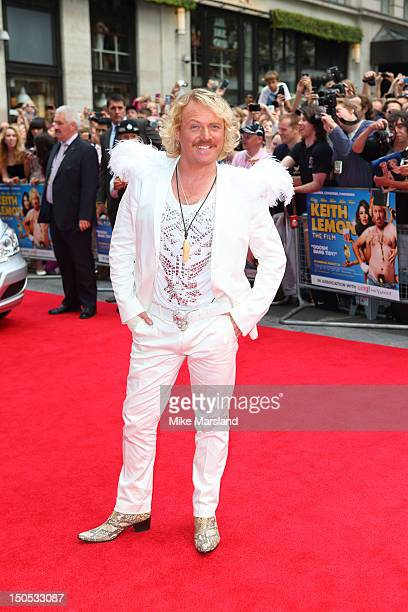 Keith Lemon attends the World Premiere of Keith Lemon The Film at Odeon West End on August 20, 2012 in London, England.
