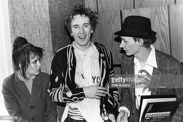 Photo of Keith LEVENE and PIL and John LYDON and PUBLIC IMAGE LTD LR John Lydon Keith Levene