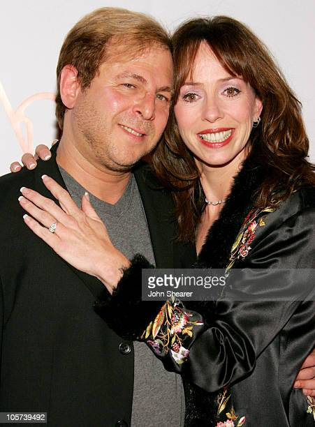 Keith Levenson and Mackenzie Phillips during Annie Opening Night to Benefit CASA of Los Angeles Arrivals at Pantages Theatre in Hollywood California...