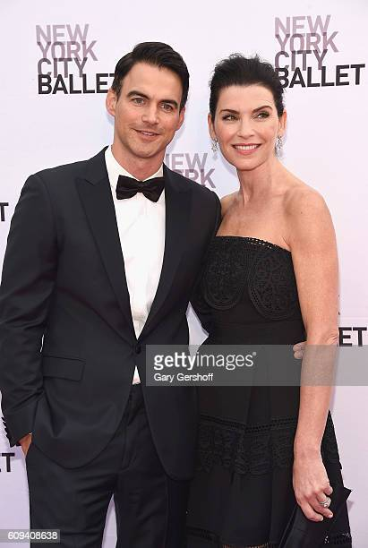 Keith Lieberthal and actress Julianna Marguiles attend the New York City Ballet 2016 Fall Gala at the David H Koch Theater at Lincoln Center on...