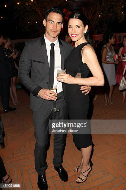 Keith Lieberthal and actress Julianna Margulies attend Variety and Women in Film Emmy Nominee Celebration powered by Samsung Galaxy on August 23 2014...