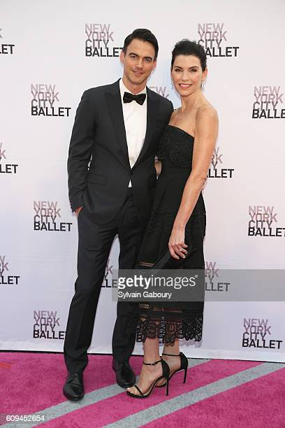Keith Lieberthal and Julianna Margulies attend New York City Ballet 2016 Fall Fashion Gala at David H Koch Theater Lincoln Center on September 20...