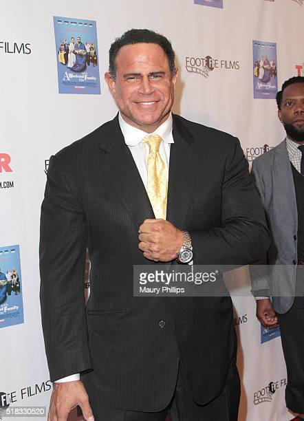 Keith Middlebrook attends Weekend With The Family Los Angeles Premiere on March 30 2016 in Los Angeles California