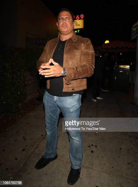 Keith Middlebrook is seen on November 23 2018 in Los Angeles CA