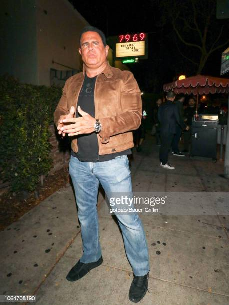 Keith Middlebrook is seen on November 24 2018 in Los Angeles California