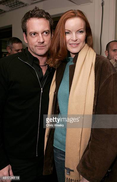 Keith Milton of Photographer's Gallery and Marcia Cross