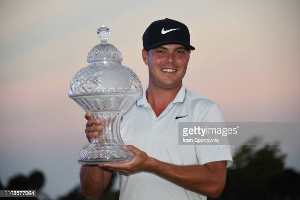 Keith Mitchell wins the Honda Classic during the final round at PGA National Resort and Spa on March 3 in West Palm Beach FL