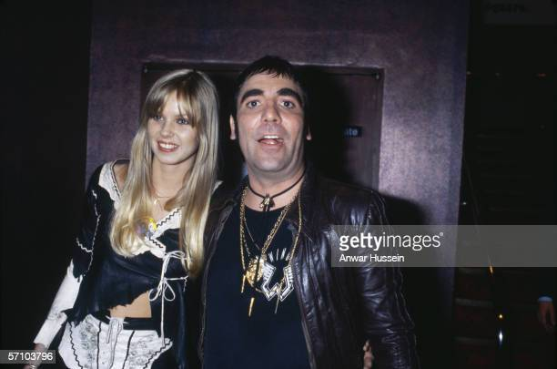Keith Moon drummer of British group The Who with his girlfriend Annette WalterLax at the film premiere of 'The Buddy Holly Story' in London 6th...