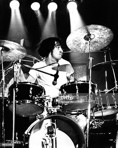 Keith Moon from The Who performs live on stage at Rai Amsterdam Netherlands on August 17 1972