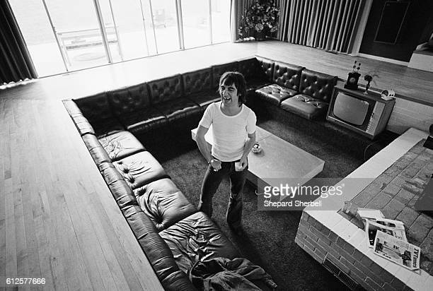 Keith Moon Laughing in His Sunken Living Room