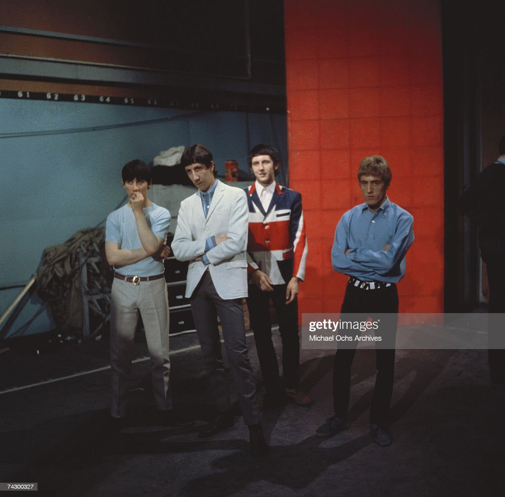 """The Who"" Portrait : News Photo"