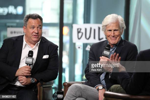Keith Morrison and Josh Mankiewicz discuss Dateline NBC at Build Studio on September 19 2017 in New York City