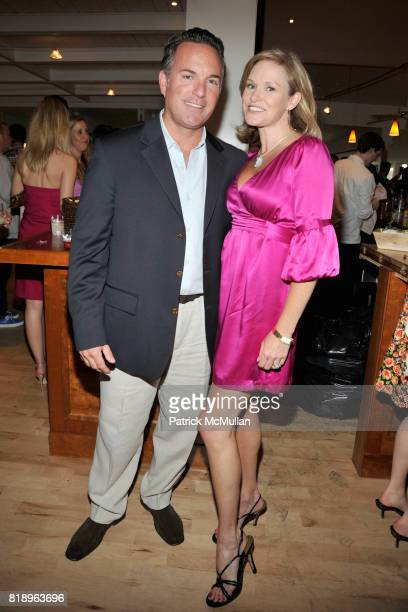 Keith Ohea and Libby Langdon attend MIRACLE HOUSE 20th Anniversary Memorial Day Summer Kickoff Benefit honoring Amy Chanos and Jim Chanos at...