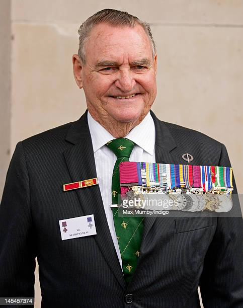 Keith Payne VC attends a Victoria Cross and George Cross Association Reunion Service at St MartinintheFields Church on May 30 2012 in London England