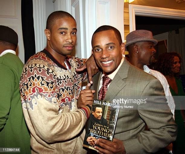 Keith Phillips and Hill Harper during Martell Presents Discover Noblige Los Angeles A Charitable Cultural Experience Honoring Holly Robinson Peete...