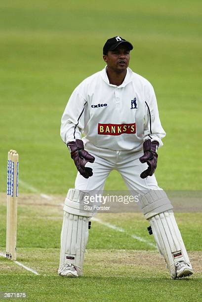 Keith Piper of Warwickshire in action during the Cheltenham and Gloucester QuarterFinal match between Warwickshire and Gloucestershire held on June...