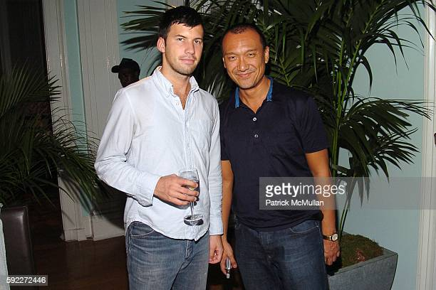 Keith Pollock and Joe Zee attend TARGET hosts the THOMAS O'BRIEN Vintage Modern Launch Event at The Admiral's House on Governor's Island on September...