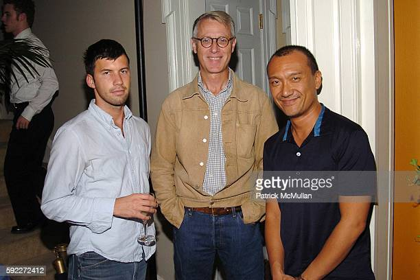 Keith Pollock Guy Trebay and Joe Zee attend TARGET hosts the THOMAS O'BRIEN Vintage Modern Launch Event at The Admiral's House on Governor's Island...