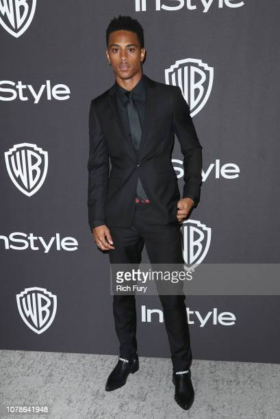 Keith Powers attends the InStyle And Warner Bros Golden Globes After Party 2019 at The Beverly Hilton Hotel on January 6 2019 in Beverly Hills...