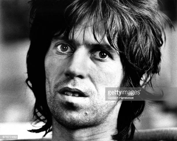 Keith Richard from The Rolling Stones posed in Brussels Belgium on May 06 1976